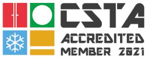 2021 CSTA Accredited Member Logo