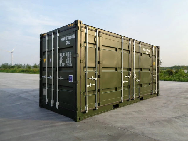 20ft Standard Open Side Container High