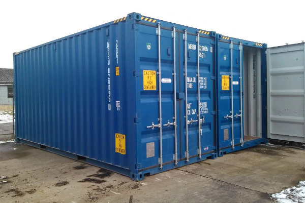 20ft high cube containers with side opening doors