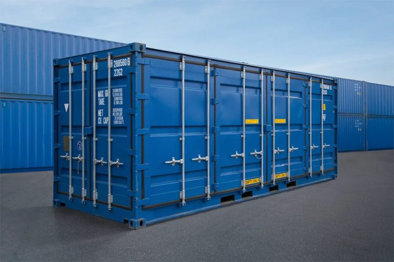 Full Side Access Doors As Well As End Opening Doors Containers